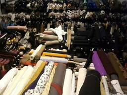 Fabrics couture and yarn