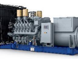 12V4000G23 diesel generator set 50Hz 11kV 1600kVA low hours