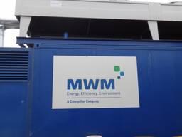 4 MW CHP gas generator plant 2x MWM TCG2020V20 container
