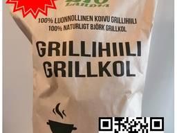 Charcoal / Древесный уголь / Grillihiili 100% koivu 15 L / 3 KG SK