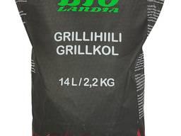 Charcoal / Древесный уголь / Grillihiili 14 L / 2,2 KG SK