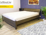 Double and single wood beds made of alder - фото 3