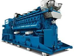Газопоршневой генератор MWM TCG3020V20 2300 kWel 50Hz новый
