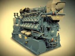 Газовый (газопоршневой генератор MWM TCG2020V12 gas genset