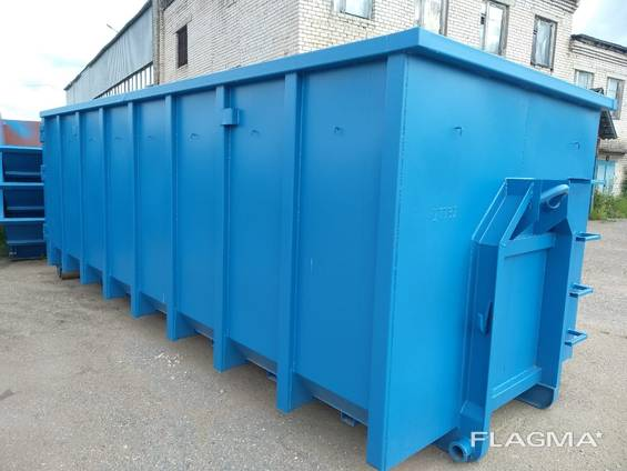 Frame containers , Kontti containers, hook lift container,
