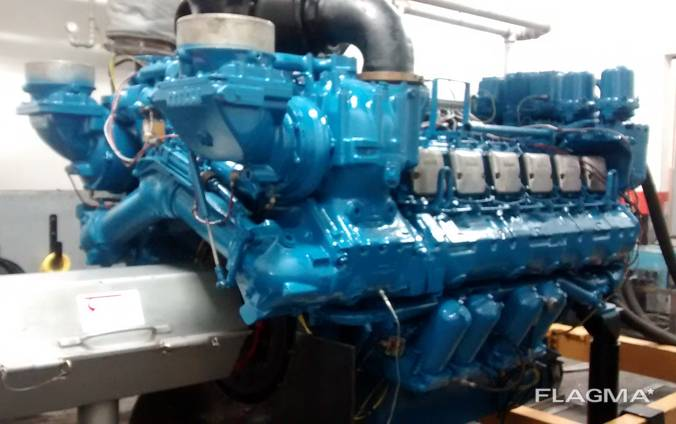 Marine engines sale MTU 12V396 TE 74 L, Diesel 1922HP