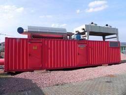MTU 12V4000 G61 diesel generator set container 1600 kVA ДГУ