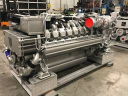 MTU 16V2000M94 marine engine reconditioned sale / long block