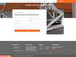 Создание сайта для стропильных ферм