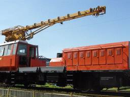 Сraned railway vehicle MPT-4