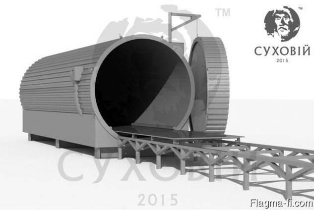 Камера для термомодификации древесины